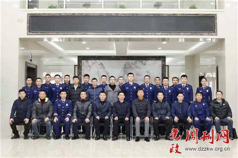 四川总队观摩团赴哈尔滨支队参观作战训练正规化建设成果展示