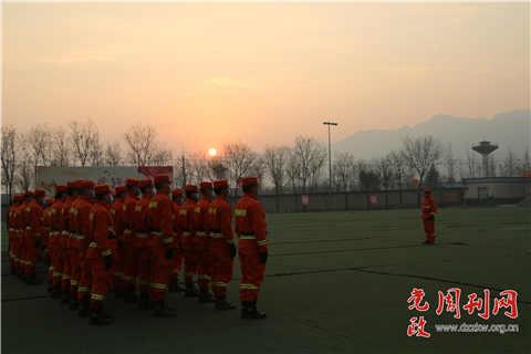 备战春防丨贴近实战开展野外水泵训练